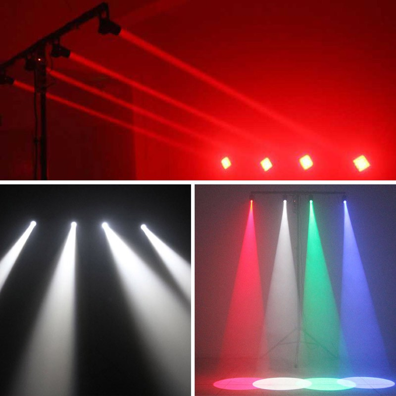 Us 9 1 65 Off Zjright 9w Led Rgb Spots Stage Decor Lights 3 Color Change Mini Dj Party Club Strobe Effects Eu Plug Ceiling Hang White Lighting In