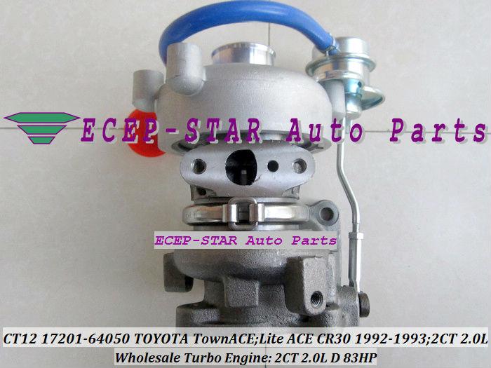 CT12 17201-64050 17201 64050 17201-64040 Turbocompresseur 17201-64020 - Pièces auto - Photo 4