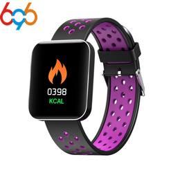 696 S88 умный браслет многофункциональный Водонепроницаемый 1,54 Цвет Экран трекер сна Смарт-фитнес браслет трекер Smart Band Watch