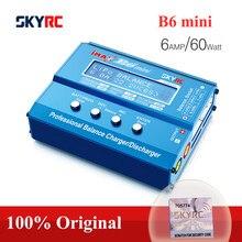 Skyrc monitorador de tensão imax b6 mini para rc, produto original, monitorador de li-ion com re-pico helicóptero nimh nicd lihv nicd pb com re-ion carregador de bateria para bateria