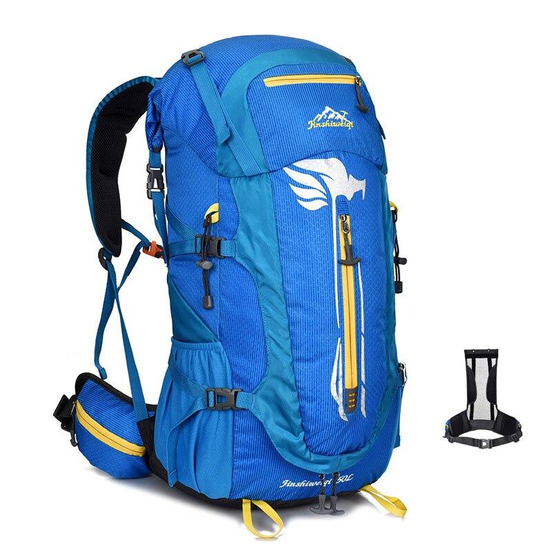 Sac à dos étanche professionnel cadre externe escalade Camping randonnée sacs à dos alpinisme Trekking sacs de plein air DSB47