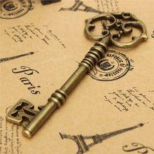 Arco de chave bronze vintage, 1 peça, estilo antigo, parede, chave, arco para fazer pingente, colar, pendurado, artesanato jovem, venda imperdível