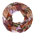 Scarves for Women 2016 Wold Map Printed Neck Tube Scarf Voile Womens Accessories/Scarf Foulard Circle Snood Scarf Free shipping