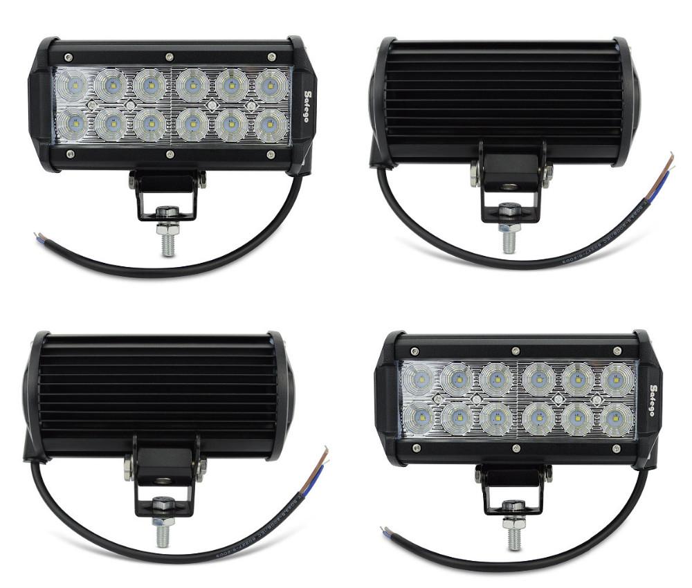 36 LED remolque pulgadas 2