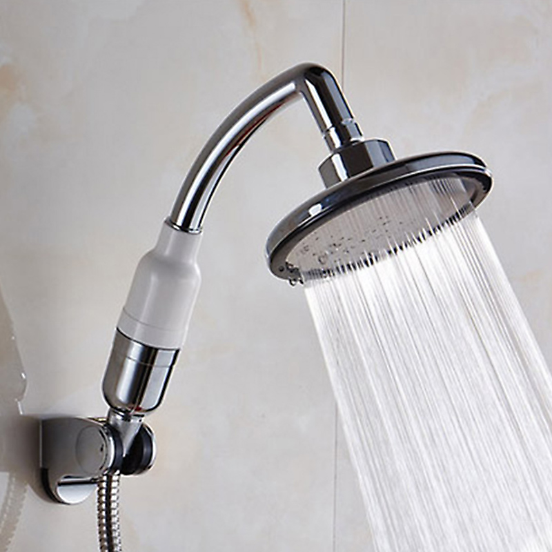 Multi-fuction Big Handheld Shower Head 5.7 Inch Pressure Boost Waterfall Showerheads Water Filter Purify Shower Heads