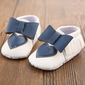 2016 Spring New PU Leather Toddler Baby Moccasins Bow Shoe Infant Shoe First Walker Heart Newborn Girls Kid Soft Soled Anti-slip