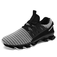 QICE Men's Running Shoes Spring blade Sneakers Cushioning Outdoor Sport Shoes for Men Lightweight Athletic Shoes Male Size 39-44