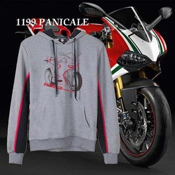 KODASKIN Men Cotton Round Neck Casual Printing Sweater Sweatershirt Hoodies for 1199 Panigale Panigale1199