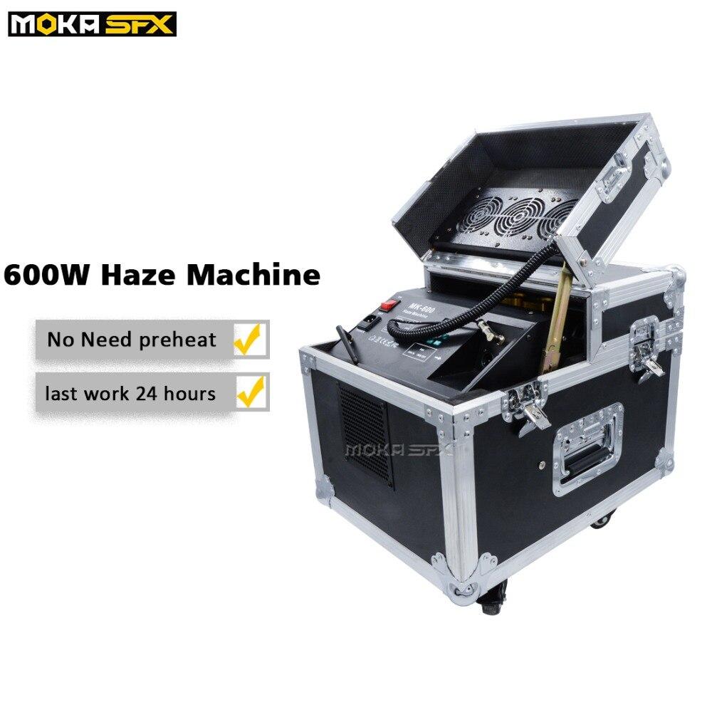 Máquina de neblina simple de 600w DMX/Control remoto inalámbrico máquina de humo de niebla Vertical Piro para equipos de efectos de escenario