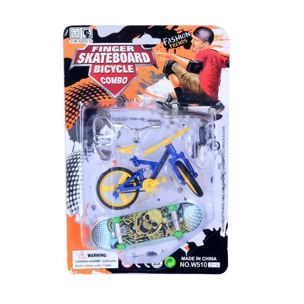 Mini fingerboard Leker Finger Skateboards Bike Set Leker for barn - Humoristiske leker - Bilde 1