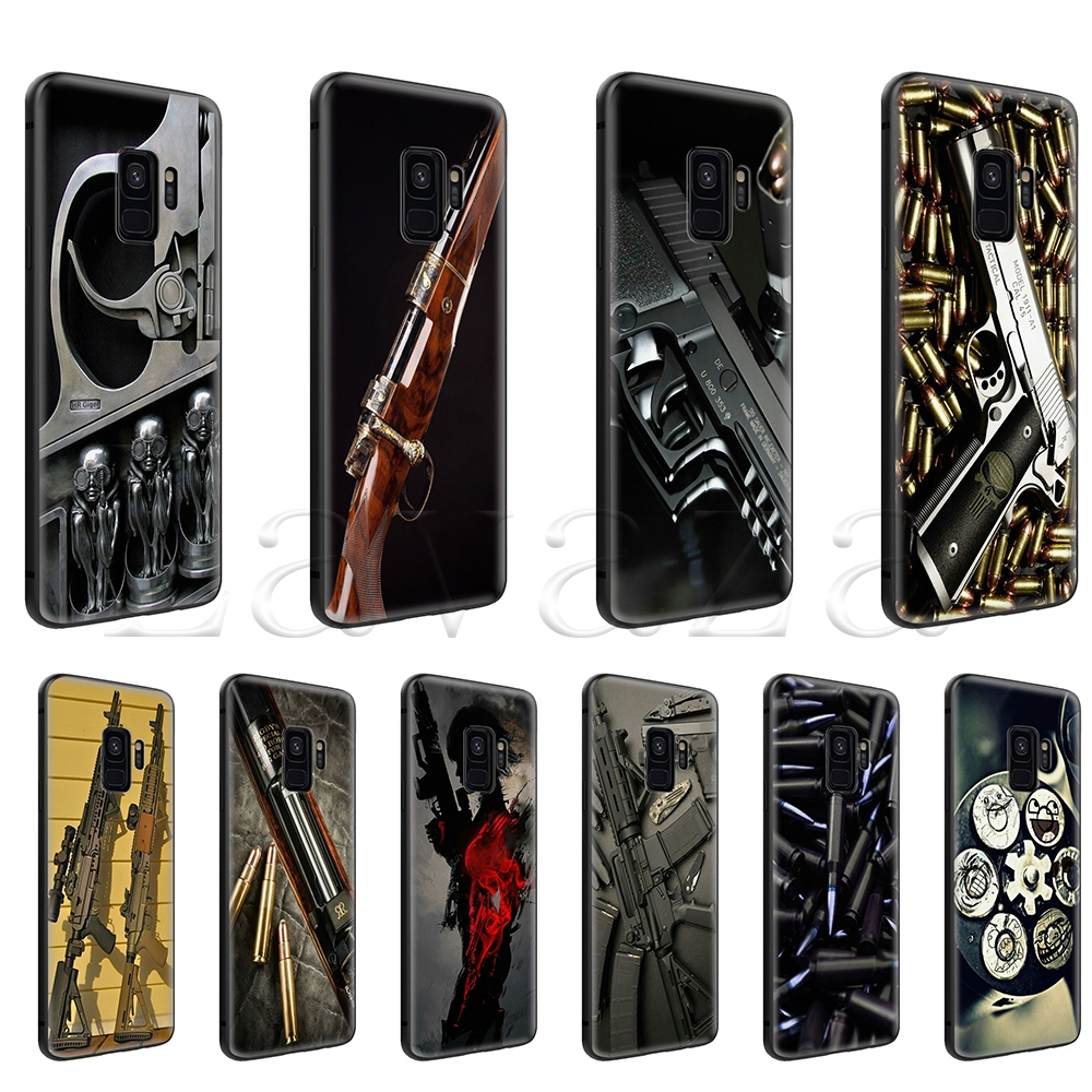 Cellphones & Telecommunications Phone Bags & Cases Contemplative Lavaza Nice Weapons Rifle Guns Sniper Pistol Bullet Case For Galaxy S6 S7 Edge S8 S9 S10 Plus A6 A7 A8 A9 J6 Note 8 9