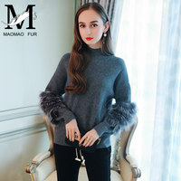 Women Pullovers Sweater 2018 Spring Turtleneck Knitting Coat Ladies Casual Clothes Loose Long Sleeve Jumper Knitwear Outwear
