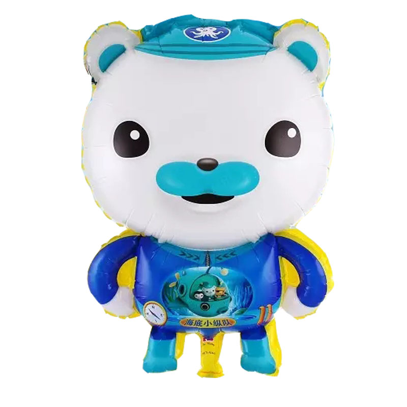 Octonauts Foil Balloons Cartoon globos helium balloon classic toys air balls happy Birthday balloons Inflatable Party Supplies