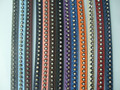 1 Yard 7x2mm Flat Inlay Rhinestone Crystal PU Leather Cord String Lace Thong Jewellery Craft Making