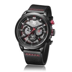 Image 4 - AAA T5 marka luksusowy zegarek męski człowiek wojskowy zegarek kwarcowy Sport Wrist mężczyźni Chronograph wodoodporne męskie zegarki sportowy zegarek