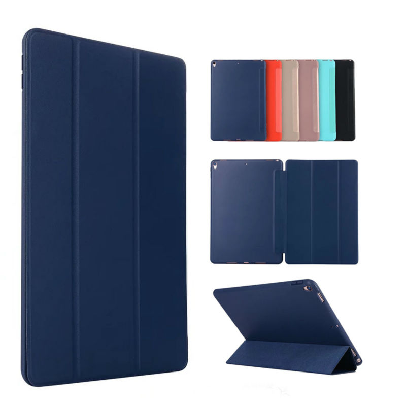 For iPad Pro 10.5 2017 Tablet PC Case Cover TPU Flip Leather Slim Soft Protective Stand Fundas For Apple iPad pro 10.5 inch Skin tpu soft back cover case slim protective cover skin for funda apple ipad pro 10 5 2017 version para coque cover stylus pen