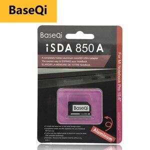 "Image 1 - BaseQi adaptador de tarjeta Micro sd 850A memory stick pro duo Ninja sigiloso conducir para Xiaomi mi cuaderno Pro 15,6 ""usb con lector de tarjetas sd"