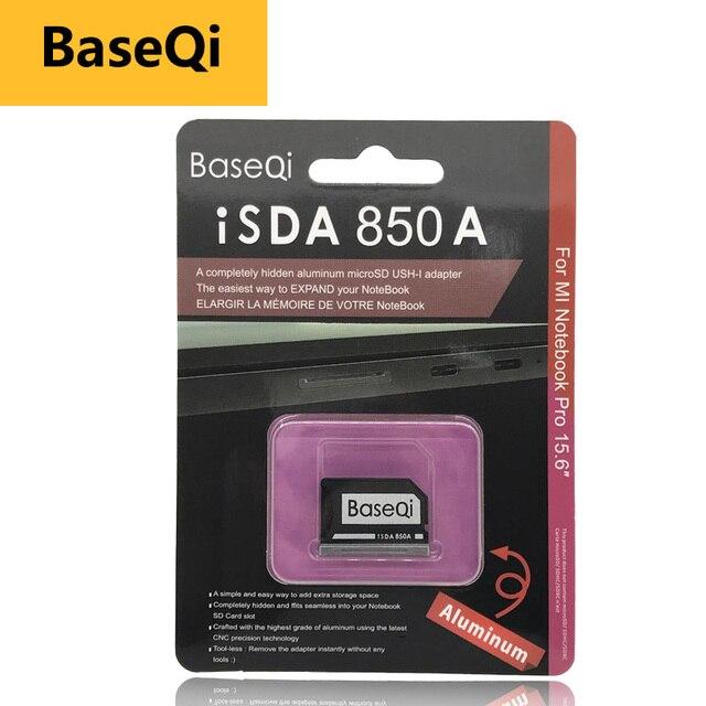 "BaseQi mi كرو sd بطاقة محول 850A ذاكرة عصا برو الثنائي النينجا الشبح محرك ل Xiao mi mi دفتر برو 15.6 ""قارئ بطاقات USB sd"