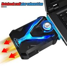 Buy ICE COOREL F1 Portable Suction Type Notebook Laptop Cooler USB Air External Extracting Cooling Pad Ventilation Fan for Game Book directly from merchant!