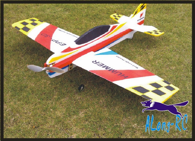 RC 3D airplane/RC MODEL HOBBY TOYS wingspan 1000mm hummer 3D plane (have kit set or pnp set ) EPP airplane model image
