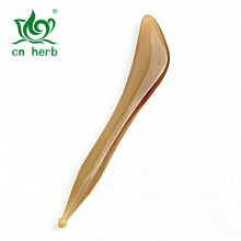 Cn Herb Scrape Angle Eyes Facial Eye Dial The Reinforced Bar Yak Horn With Acupuncture Cosmetology Massage Pen natural yaks angle face muscle pull rod cattle horn the eye dial the great beauty facial massage stick