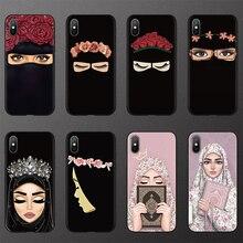 이슬람 이슬람 Hijab 그릴 아이 퀸 TPU 케이스 for iphone 6 6S 7 8 Plus FOR iphone X 11 Pro XS Max XR 케이스 for iphone 10 5 5S SE