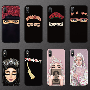 Image 1 - Muslim Islamic Hijab Gril Eye Queen TPU Cases for iphone 6 6S 7 8 Plus FOR iphone X 11 Pro XS Max XR Case for iphone 10 5 5S SE