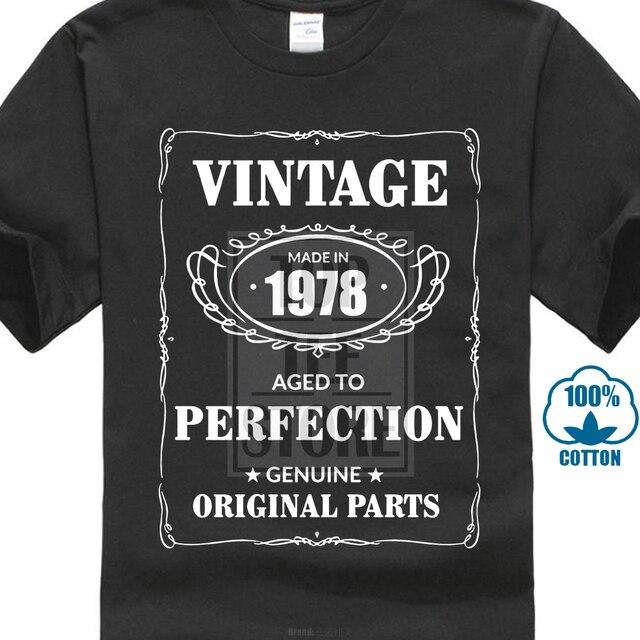 men s 40th birthday est 1978 vintage man fortieth 40 years funny