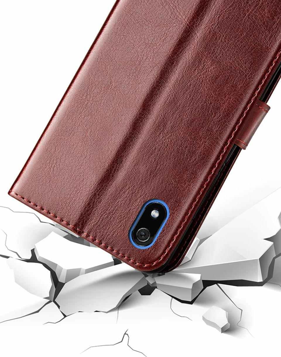 Flip עור מקרה על לxiaomi Redmi 7A 7 תיק בחזרה כיסוי טלפון מקרה על לxiaomi Redmi 7 7A