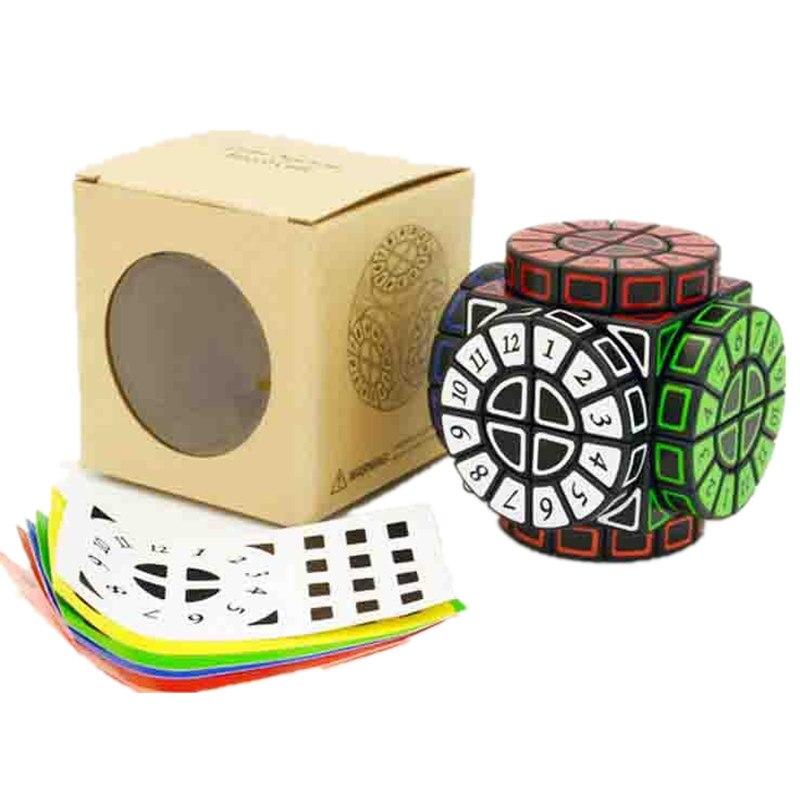 Time Machine Cube magique créatif Souvenir édition Puzzle jouet créatif Souvenir édition jouet Cubo Magico avec des autocollants gratuits supplémentaires - 3
