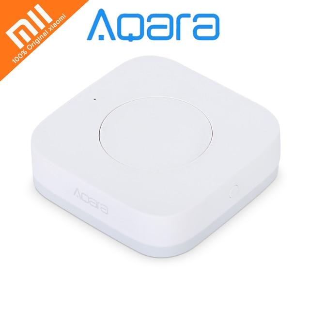Oryginalny Xiao mi Aqara Inteligentny Bezprzewodowy Przełącznik Klucz Inteligentny Zastosowanie Pilot ZigBee bezprzewodowy dla mi domu App