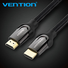 Vention HDMI 2.0 Cable Gold-plated 4K*2K 60Hz UHD HDMI Cable 1m 2m 3m 5m 8m 10m for HD TV LCD Laptop for PS3 Projector Computer