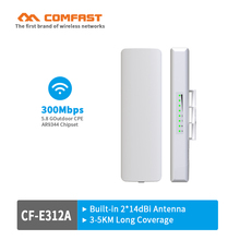 COMFAST 300Mbps 5.8Ghz outdoor Access Point AP router repeater for long range wifi transmission wireless bridge CPE Nanostation