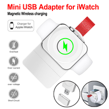 Wireless Charger For Apple Watch 1 2 Magnetic Charging USB Series 4 3