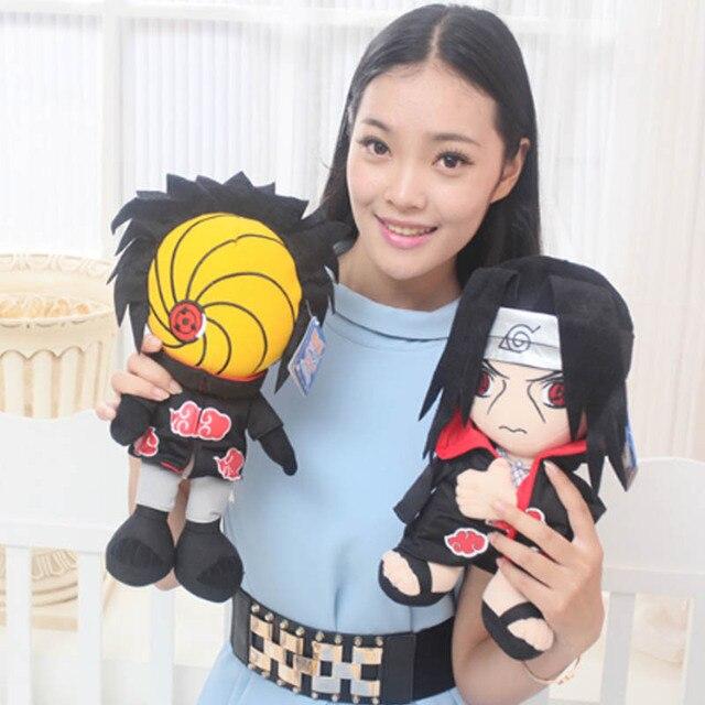 30 cm Naruto figura de peluche de juguete de peluche 2016 Nuevo Anime Naruto tsume Gaara Kakashi akatsuki madara modelo muñeca suave de la felpa para niños