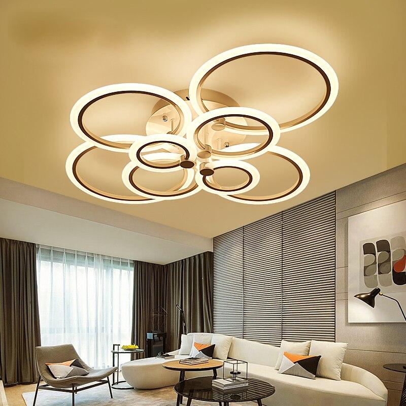 Remote control living room, bedroom modern LED ceiling lights Luminarias Para Sala dimming LED ceiling light deckenleuchten