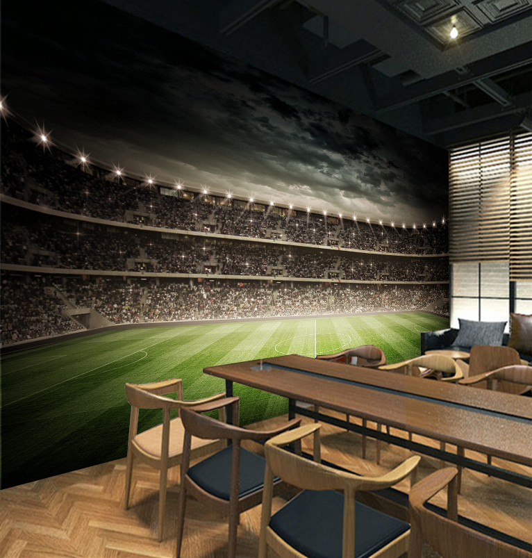 [Self-Adhesive] 3D Ten Thousand People Stadium 8 Wall Paper mural Wall Print Decal Wall Murals