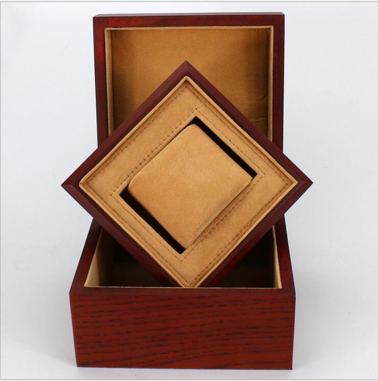 2018 Wooden Box Jewelry Brand Original Watch Box Premium Gift Box Middle Box Watch Box Pillow Package Case For Watch Jewelry halter strappy padded one piece swimsuit