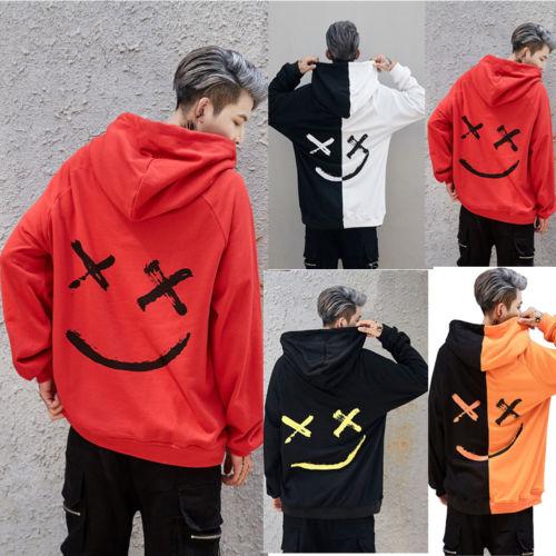 Winter Mens Hoodies Sweatshirt Hooded Jacket Coats Pullover Outwear Jumper Tops in Hoodies amp Sweatshirts from Men 39 s Clothing