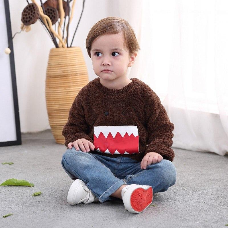 Baby Jungen Kleidung T-shirt Langarm Cartoon-muster Sport T-shirts Für Jungen Kinder Kleidung Pullover Neue Profitieren Sie Klein