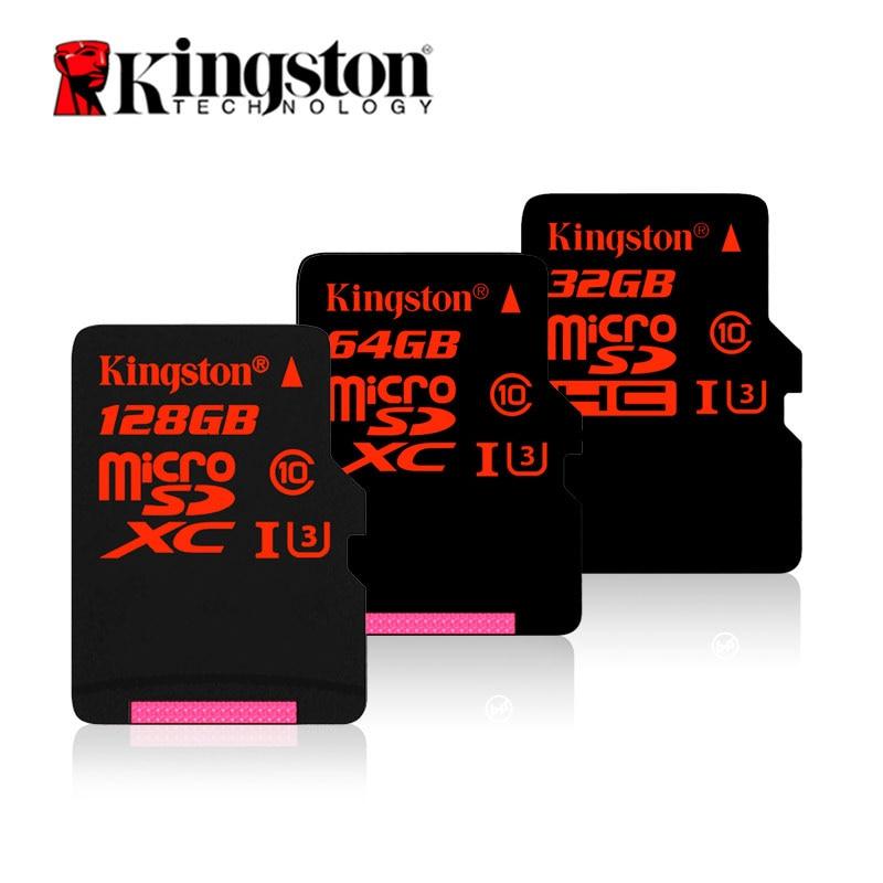 Kingston Micro SD 32gb 64gb 128gb HD Memory MicroSD Tachograph Action Camera Drone Monitor TF Cards