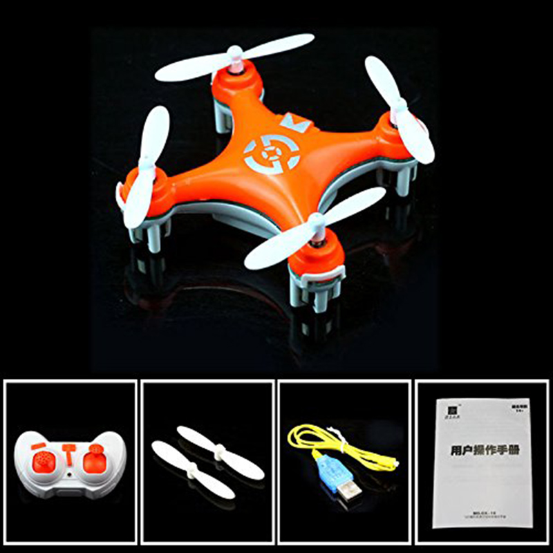 Cheerson CX-10 Mini Drone 29mm 4CH 2.4GHz 6-Axis Gyro dron with 360 Degree Rollover Function USB Rechargeable LED RC Helicopter (14)