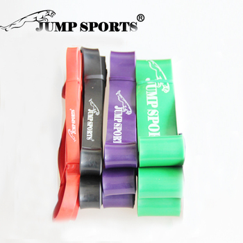 """2016 Set of 4 Natural latex 41"""" Strength Resistance Bands Loop Fitness Crossfit Power Lifting Pull Up Strengthen Muscles"""