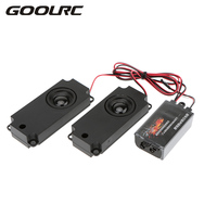 GoolRC Second Generation Cool Throttle Linkage Groups Engine Sound Simulator With 2 Speakers For R C