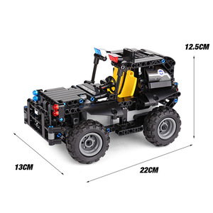 Image 5 - Technic Rc Auto Bouwstenen Afstandsbediening Race Model Suv Technologie Bouwen Modulaire Diy Bricks Speelgoed Voor Kinderen