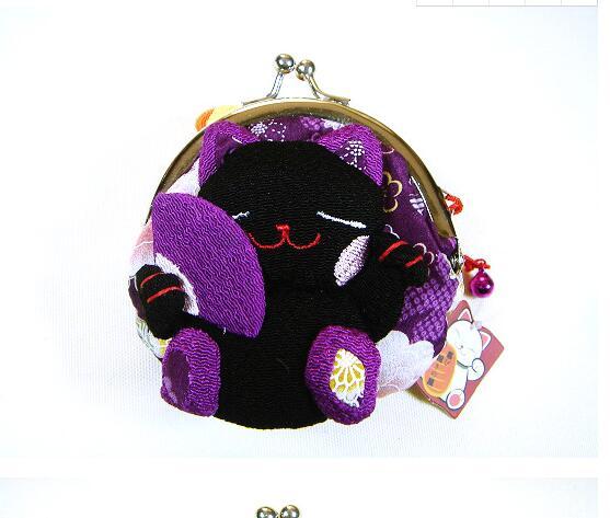 Cas Titulaire monnaie 32 Pcs Nouveau Pochette Femmes Japon Mignon Clés Porte De amp; Kimono Poche Stockage Hasp Filles q0OO6