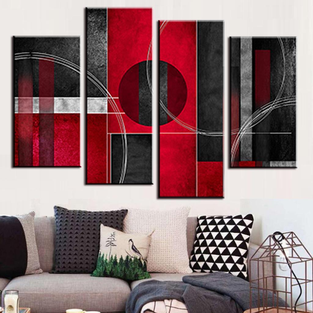 Online kopen wholesale rood schilderijen uit china rood ...
