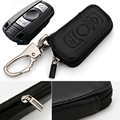 New Genuine Leather Car Styling Key Bag Cover For BMW 1 3 6 series X1 X5 X6 Z4 M3 M6 X5M X6M Black Car-styling KDZY-040
