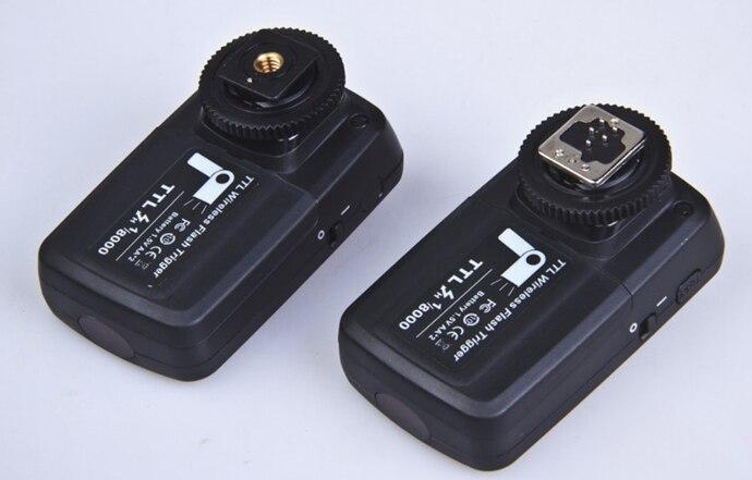 bilder für Nicefoto ttl-316c fotoausrüstung 1/8000 s wireless flash trigger high-speed 2,4 ghz ttl blitz für canon 5dii/5 diii