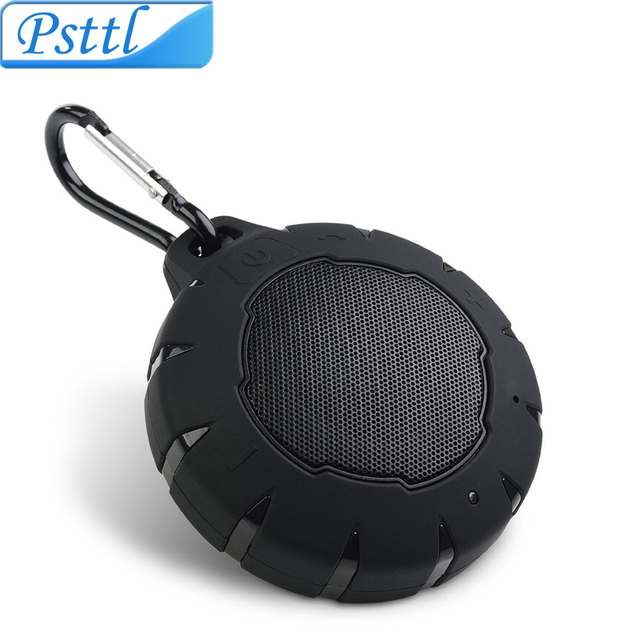 waterproof portable bluetooth speakers. portable bluetooth speaker, psttl ipx7 waterproof/dustproof outdoor wireless speaker with enhanced bass and waterproof speakers v